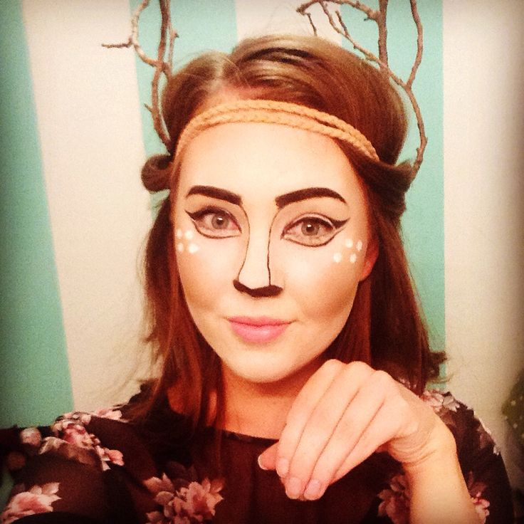 Like my Halloween look?? I'm a Deer!! #loveit @tabithaness