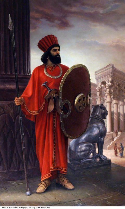 Achaemenid Soldier Iman Maleki