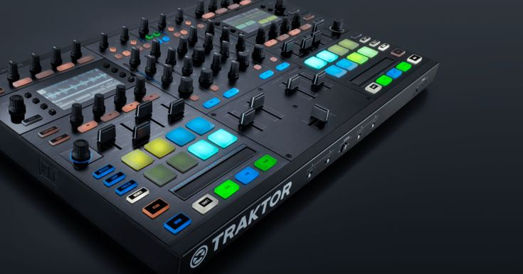 Native Instruments Kontrol S5 next level for Traktor and Dj mixing