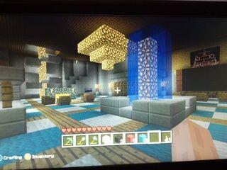 Minecraft hotel lobby 3  Minecraft  Minecraft Hotel Lobby Crafts