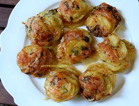 ΜΑΓΕΙΡΙΚΗ ΚΑΙ ΣΥΝΤΑΓΕΣ: Πατάτες στο φούρνο --αλλιώς ..!!!