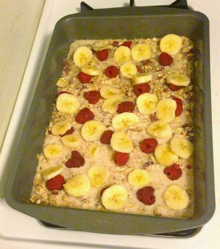 Broke and Bougie: Breakfast for the Week: Clean Eating Berry Banana Oatmeal Bake