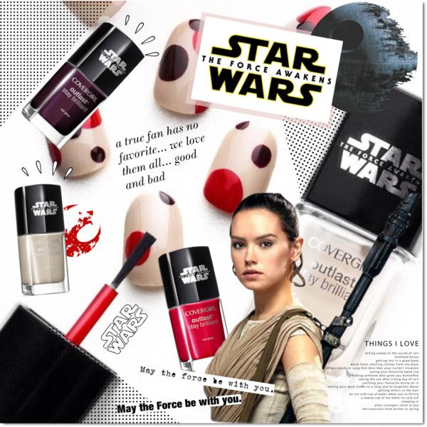 Star Wars: The Force Awakens by justlovedesign on Polyvore featuring Max Factor, Old Navy, starwars and contestentry