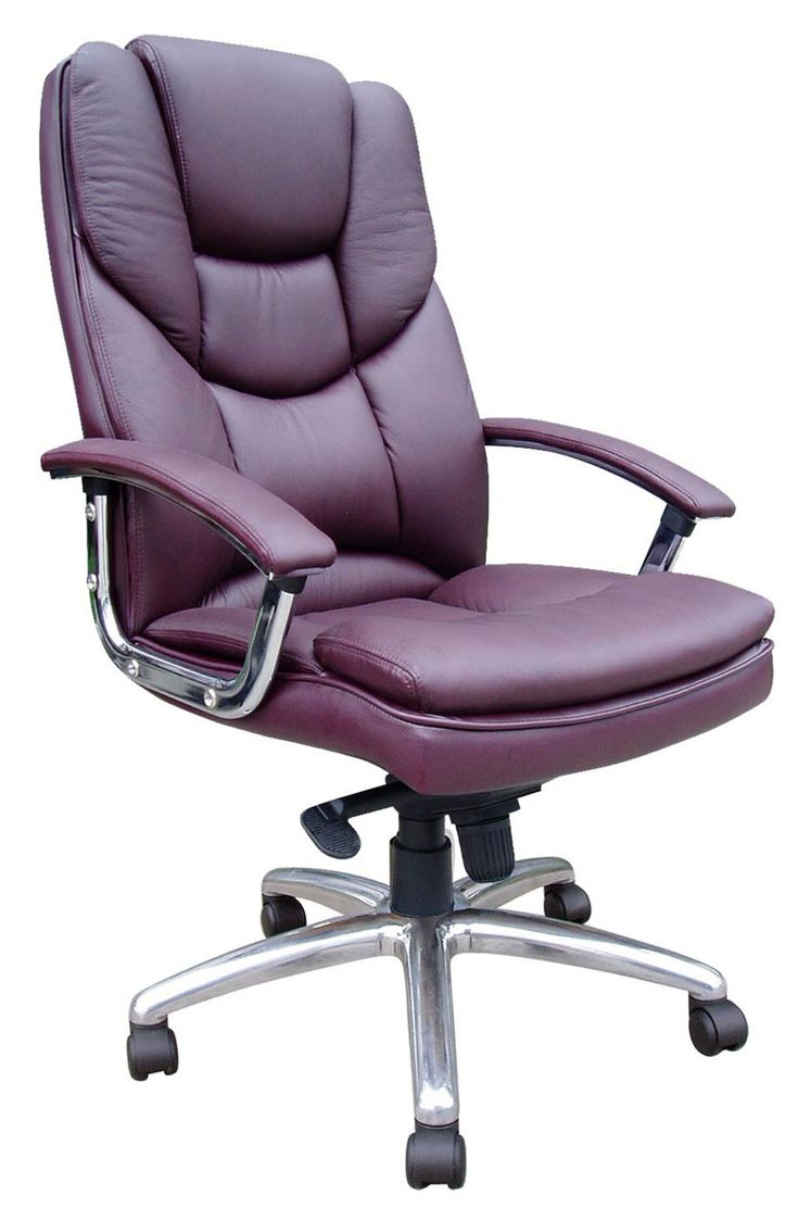 Purple Leather Office Chair - Real Wood Home Office Furniture Check more at http://www.drjamesghoodblog.com/purple-leather-office-chair/