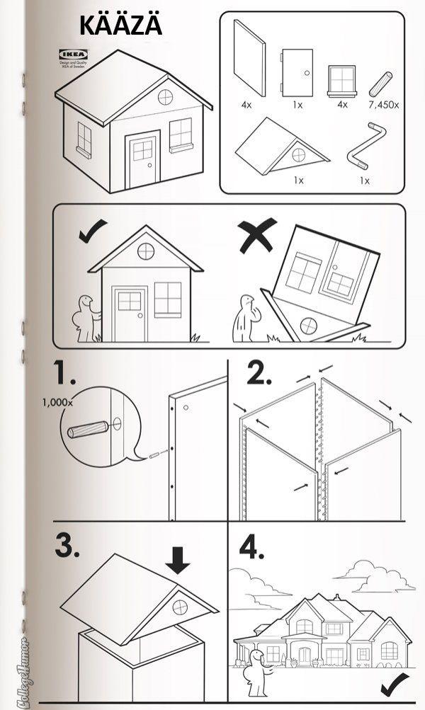 Assemble IKEA house KAAZA