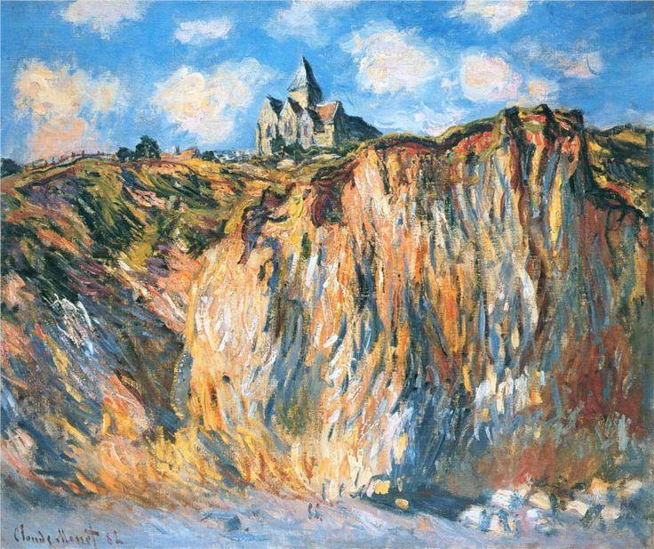 Claude Monet-Church at Varengeville, Morning, 1882