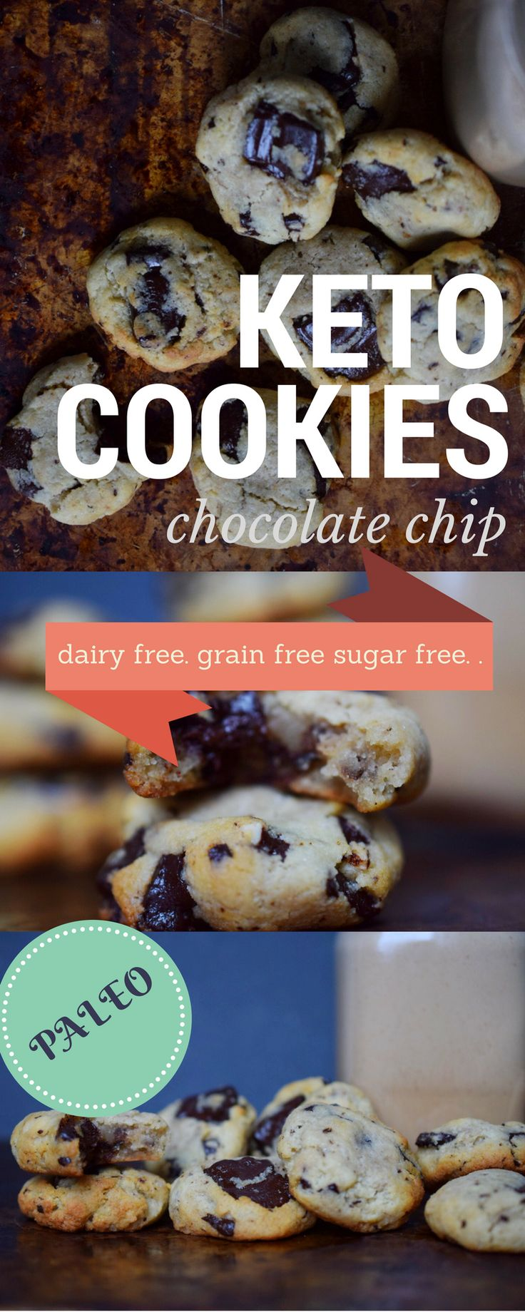 Chewy Chocolate Chip Cookies: Real Salt & Almond (Keto, Paleo, Sugar-free) – Castaway Kitchen