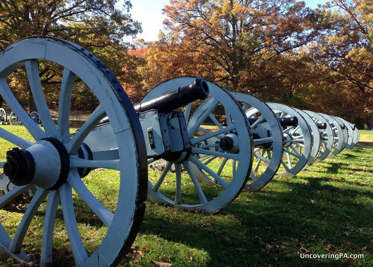 Visiting Valley Forge National Historical Park in Montgomery County, Pennsylvania.