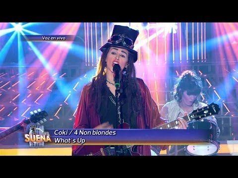 Coki Ramírez Es Linda Perry De 4 Non Blondes En Tu Cara Me Suena ...