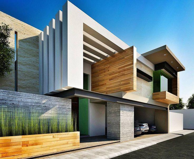 Modern residence by @gallardo.arquitectura #mexico www.facebook.com/amazingarchitecture✔️ ...