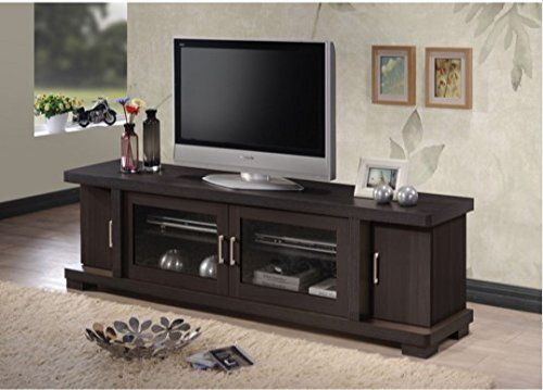 tv stands for flat screens 70 75 inch inches best buy baxton studio home loft concept dark brown. Black Bedroom Furniture Sets. Home Design Ideas