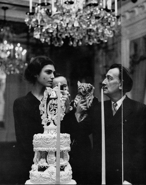 Benedetta and Salvador Dali  Penn, Avedon Muse: 'Working As a Model Is a Scheme' - The Cut