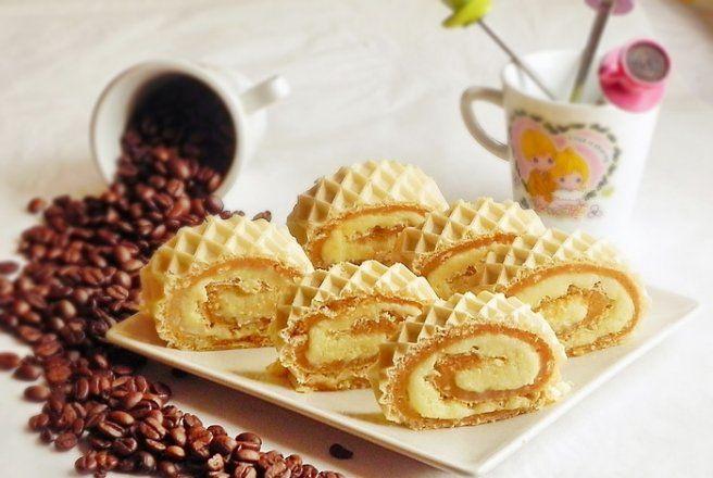 Retete Culinare - Rulada de biscuiti