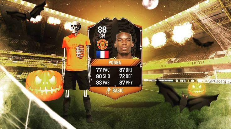 Pogba! Pogba! Pogba! #UltimateScream #FIFA17 #EASportsFIFA #Halloween #FUT #Pogba