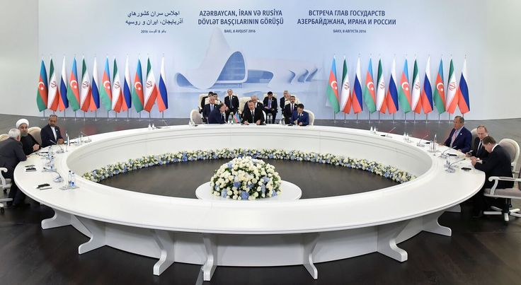 For Vladimir Putin, the development of energy projects in the Caspian region has become a priority for #Russia. Analysts say an agreement on gas with #Iran and #Azerbaijan could be near. More on this partnership: http://bit.ly/2bJHRBG