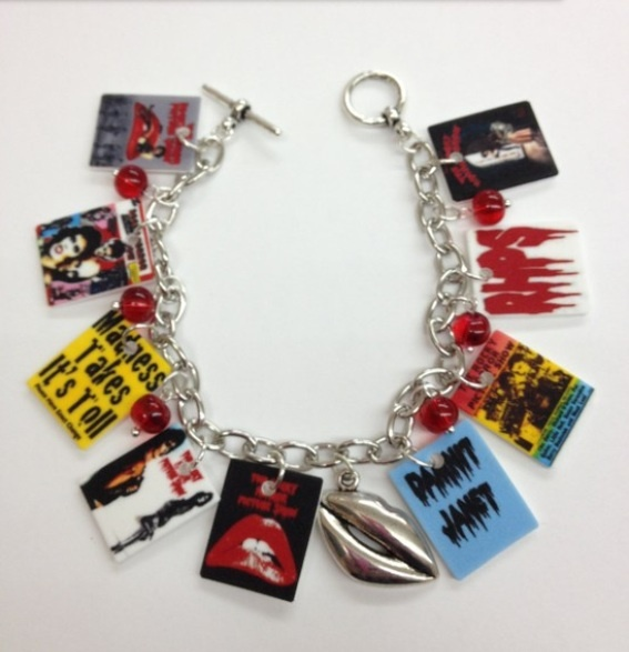 Rocky Horror Picture Show bracelet...Awesome!!!!