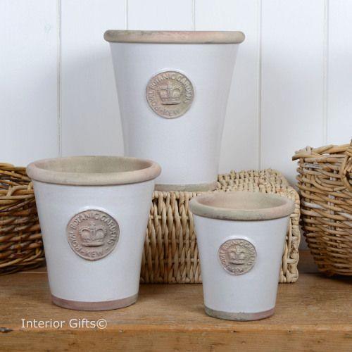 75 best kew garden plant pots planters interior gifts images on kew long tom pot in bone royal botanic gardens plant pot medium workwithnaturefo