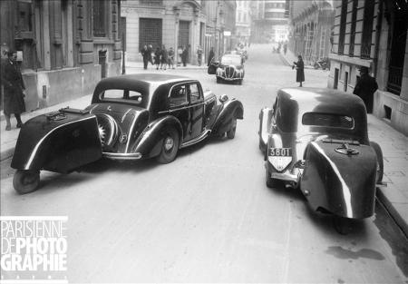 Gazogene modified cars in paris february 1941 for Decoration annee 50 americaine