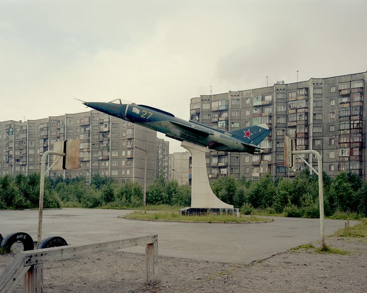 I saw this while I was visiting Murmansk, Russia which is the most northern city in the world.