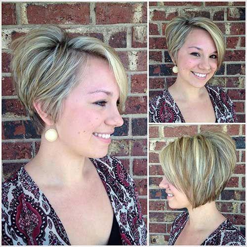 Short Haircut Women Pixels Hairstyles