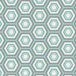 AGF Studio - Minimalista - Hexa in Turquoise