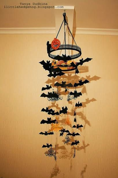 Элементы декора на Хэллоуин