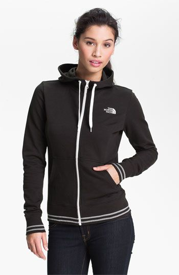 The North Face Full Zip Logo Hoodie | Nordstrom