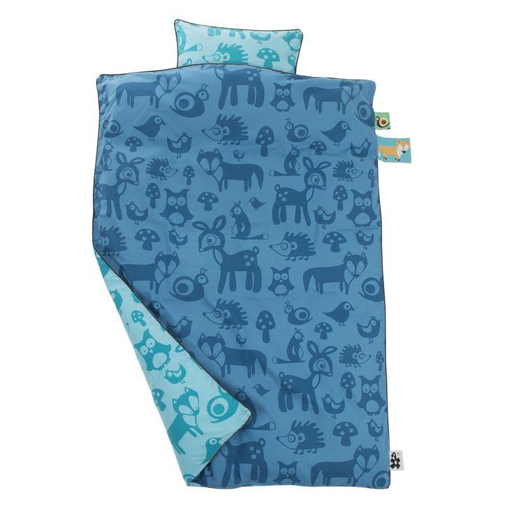 Sebra sengetøj - Skovens dyr - Junior Dreng - Tinga Tango Designbutik