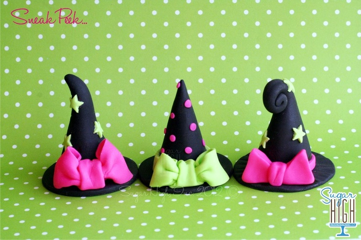 Great witches hats by Sugar High, love them!!!