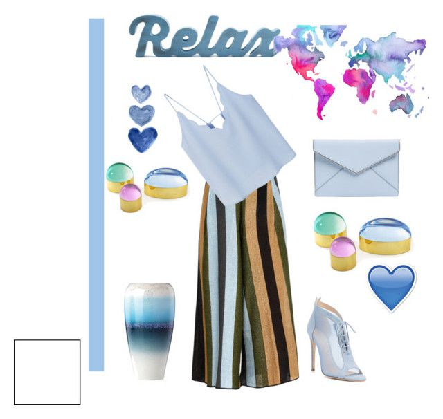 """""""relax"""" by pedrolurdes ❤ liked on Polyvore featuring Circus Hotel, Rebecca Minkoff, Chloe Gosselin, MANGO, WALL, Lenox, Dot & Bo and Jonathan Adler"""