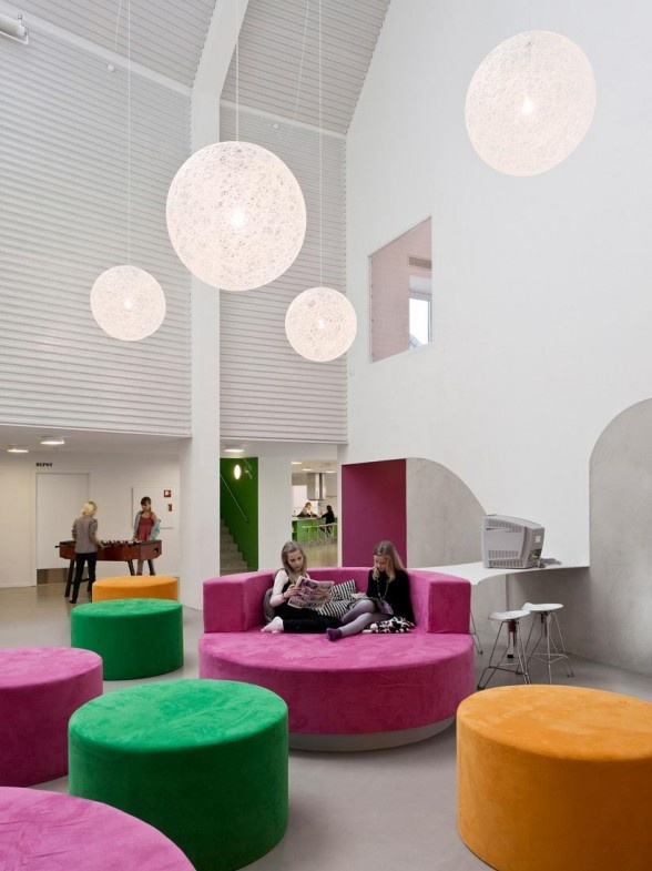 Pin By Interior Designer In A Box On Kids Teenager: Youth Recreation And Culture Centre Interior Building