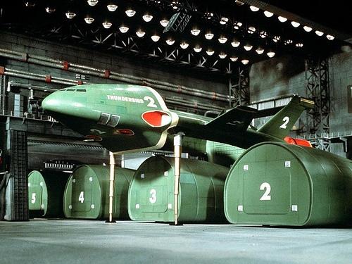 Thunderbird 2 Hangar