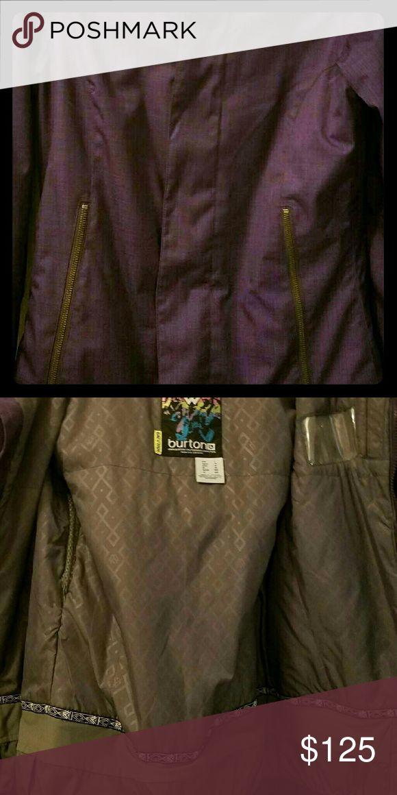 Burton Ski Jacket Beautiful purple Burton Ski Jacket size 1. Brand new without tags Burton Jackets & Coats