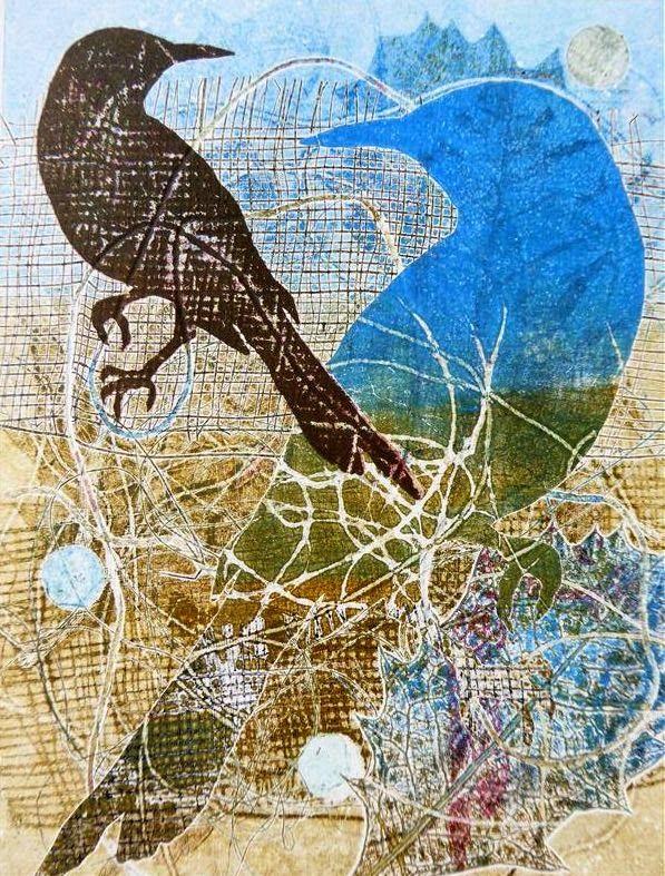 Sandra Pearce: Banksias and Birds