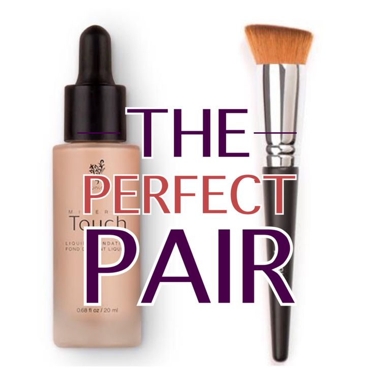 best liquid foundation ever and it pairs perfectly with the liquid foundation brush.  Soooo soft.