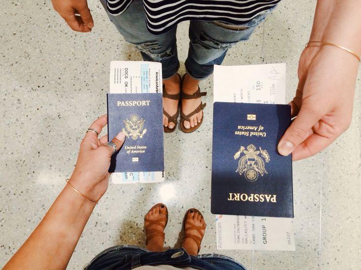 Start working on getting a passport
