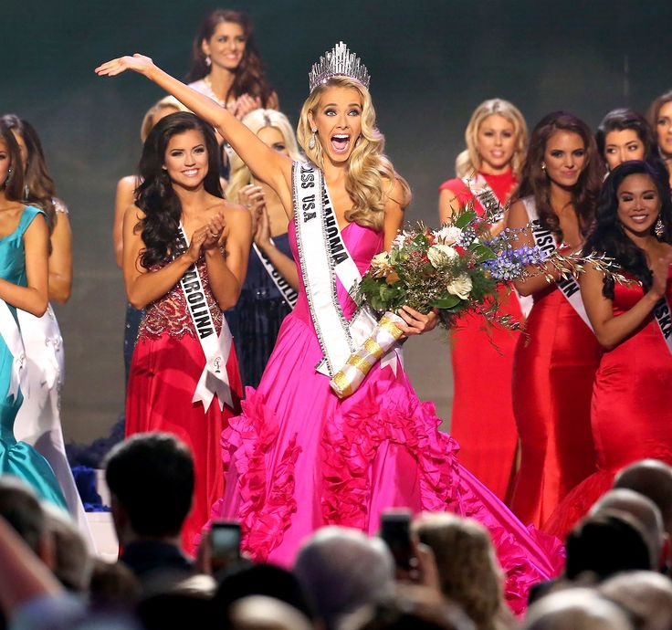 miss oklahoma 2015 | Miss USA 2015: Miss Oklahoma Olivia Jordan Wins the Crown! - Us Weekly