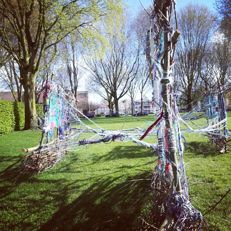 Yesss, zo leuk! Ook op Dag7: t staat r nog mooi bij, kunstwerk1! #blauwtilburg communityArt  #checkeveryday