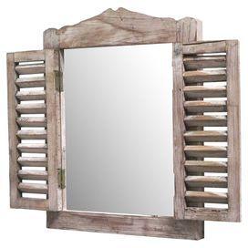 inspiration 1 volet + 1 cadre = 1 miroir