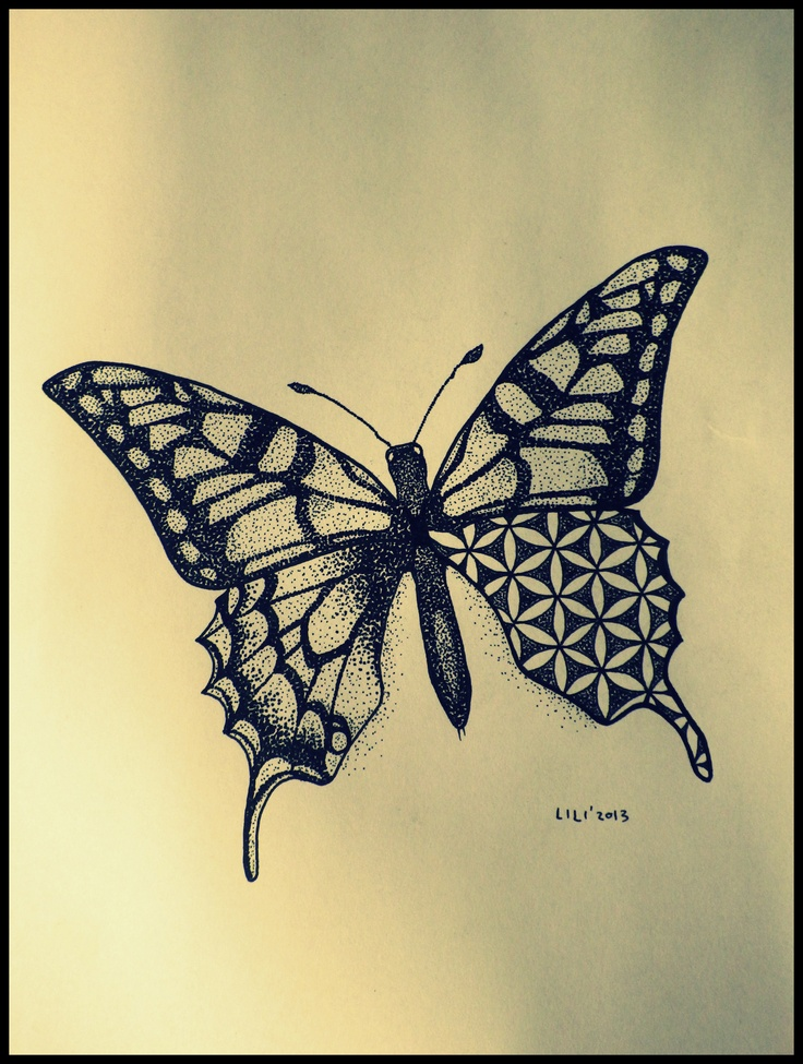 life flower butterfly