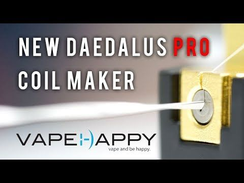 New Daedalus Pro Coil Maker: Unboxing and Build! - YouTube