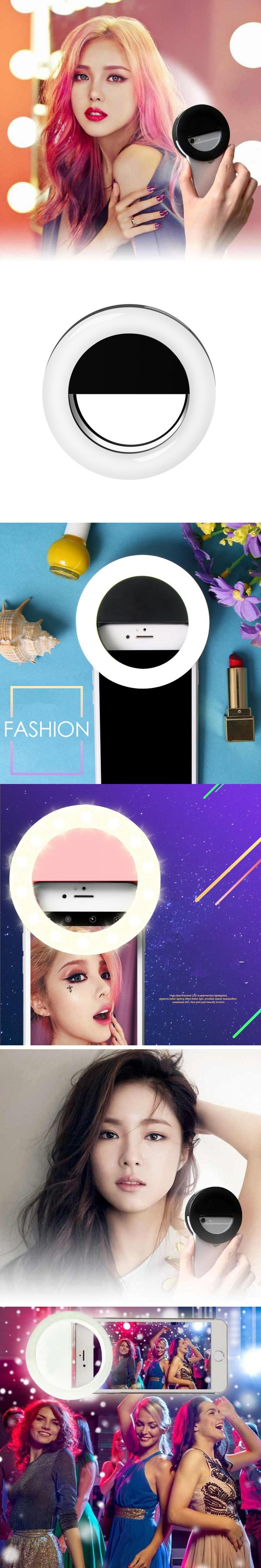 Die besten 25 led lampe ring ideen auf pinterest led led licht high quality ring selfie light up flash photography luminous lamp led 3 brightness for iphone samsung parisarafo Choice Image