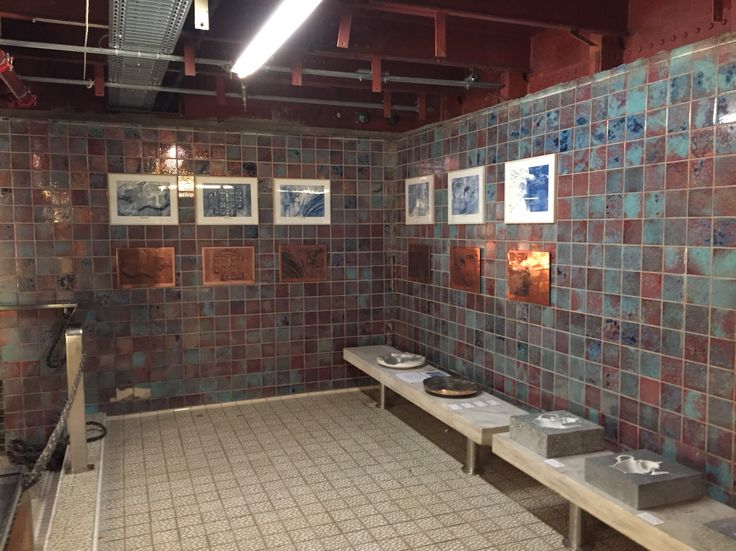 SS Rotterdam indoor swimming pool.