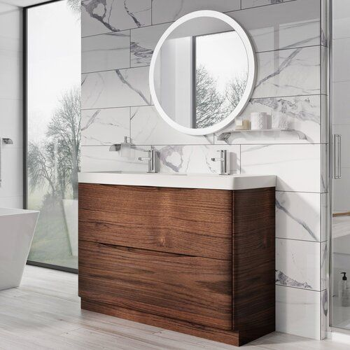 Chevalier 1200mm Wall Hung Double Vanity Unit Belfry Bathroom Vanity Units