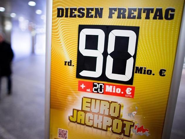Der Eurojackpot ist zehn Mal in Folge nicht geknackt worden und so auf seine Höchstsumme angewachsen.