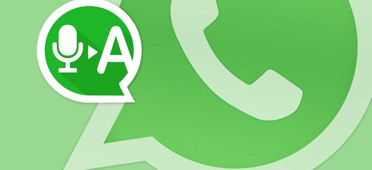 Trasformare i messaggi vocali di WhatsApp in testo  #Android #Audio #Convertire #IOS #IPhone #MessaggioVocale #Trasformare #WhatsApp