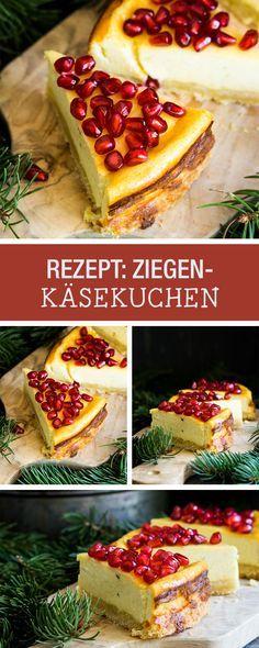 Rezept: Leckeren Käsekuchen für die Kaffeetafel backen, das Dessert für das nächste Familientreffen / recipe: baking delicious goat cheese cake  for the next family gathering via DaWanda.com
