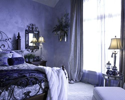 Mmmmmm....I would never get out of bed! LOVE this color!!