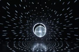 Mischa Kuball at (INTERIORS) - FAENA ARTS CENTER Presents EL ALEPH by ANTHONY MCCALL and MISCHA KUBALL