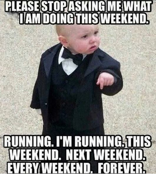 We know not everyone understands our need to run, which can be frustrating...unless we embrace the hilarious like these funny running memes